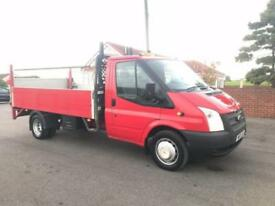 2013 13 FORD TRANSIT 2.2 350 RWD 125 BHP 13FT ALLOY DROPSIDE DIESEL