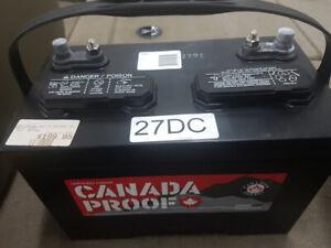 Group 27 deep cycle batteries