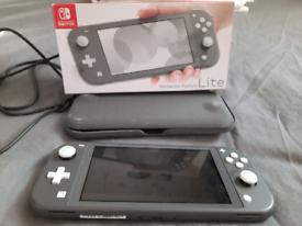 Nintendo switch light grey (boxed)