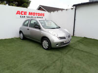 2006 56 NISSAN MICRA 1.2 16v INITIA 3 DOOR HATCHBACK,ONLY 53000 MILES WITH FSH
