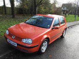 1998 Volkswagen Golf 1.6 SE-12 months mot-full service history-great reliable value