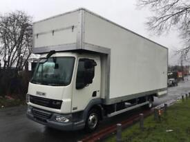 DAF LF45 160 24ft, 7.5T Dropwell Luton Furniture Removal Van **New Body**