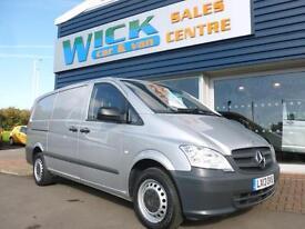 2013 Mercedes-Benz VITO 113 CDI LWB 130ps Van *SILVER* Manual Medium Van