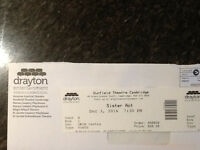 Ticket for Sister Act