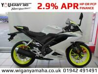 YAMAHA YZF-R125 2019 MODEL 125cc Learner Legal 125cc Super Sports Bike...