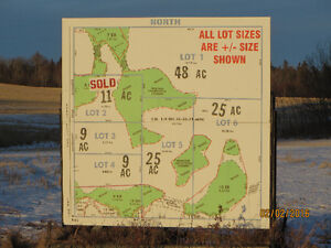 LAND .. INTERNET..POWER. GAS ....STRATHCONA County  4 LOTS