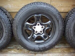 """16"""" Toyota wheels with Arctic Claw winter tires"""