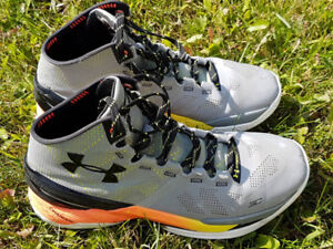 Steph Curry Under Armour Charged Basketball Shoes- Size 10
