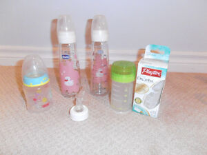 Baby bottles (Chicco, Dr. Brown and more) Kitchener / Waterloo Kitchener Area image 2