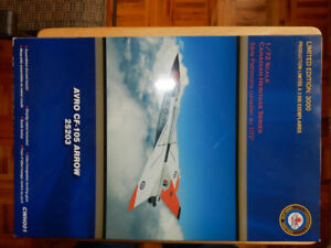 Limited Edition Diecast Model of the CF-105 Avro Arrow