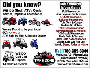 Independent Motorsports Dealer can Service & Repair ATVs!