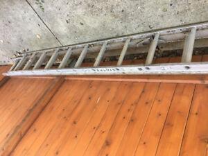 Construction Grade Extension Ladder