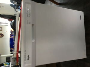 Whirlpool Auto-sensing built in dishwasher Never been used