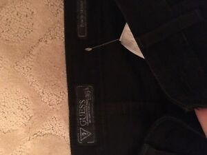 Guess black jeans, Never Worn!!! Strathcona County Edmonton Area image 2