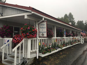Own this lovely Bakery and restaurant in Haines, AK