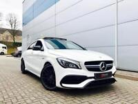 2016 66 reg MERCEDES BENZ CLA45 2.0 AMG + FACELIFT + BIG SPEC