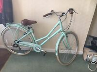 Pendleton Hybrid Ladies Bike in Mint Green