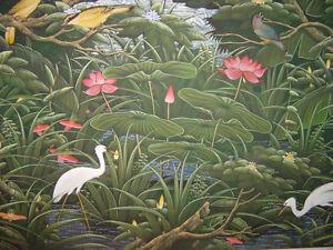 Paysage de Bali