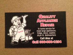 We  sale  washers, dryers, fridges,  stove,  and dishwashers