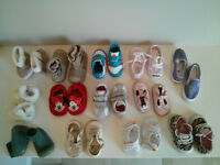 14 Pair of Baby Shoes