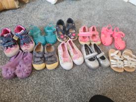 Size 4 toddler infant shoes job lot bundle