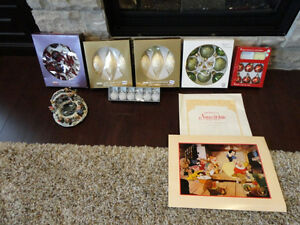 New Premium Christmas Tree Ornaments &'94 Snow White Lithograph