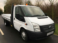 2012 62 FORD TRANSIT DROPSIDE 2.2TDCI 125BHP EUR0 5 RWD 350 1 COMPANY OWNER