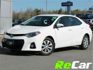 2014 Toyota Corolla S | HEATED SEATS | BACK UP CAM