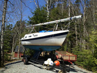 Tanzer 22 - Trailer / Newer Outboard - Must sell before June 6th