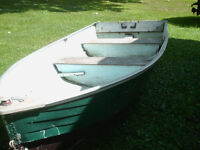 12 aluminum boat-$225 firm free portable fishfinder with boat