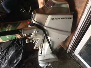 9.9 Chrysler outboard electric start