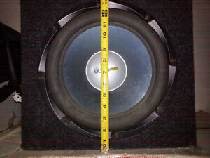 "12"" Ultra Linear Subwoofer in Box"