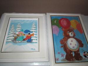 Plusieurs tableaux variés entre 100$ et 400$