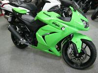 Kawasaki EX 250 KAF 2011 11 reg 4610 miles