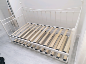 Single to Double Trundle Bed - Good Condition