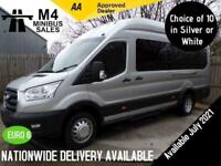 2019 Ford Transit 460 EcoBlue Leader from 4500 Miles COC Minibus Diesel Manual