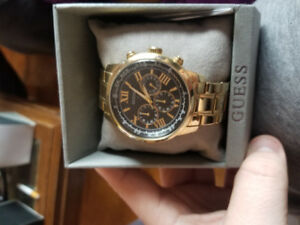 Guess Mens Watch (Gold)