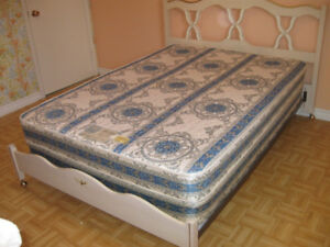Double bed  in very fine condition.