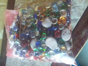 Large pack of assorted decorative marbles stones London Ontario image 4