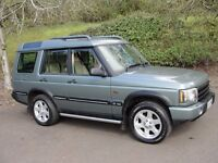Land Rover Discovery ES TD5 7 SEAT (green) 2004