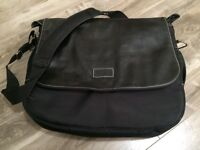 Roots Genuine Leather Laptop Bag