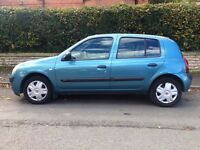 2004 Renault Clio Expression DCI 1.5 Diesel. Long MOT. £30 Tax