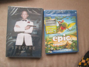 Disney Epic blueray and James Bond dvd: Spector brand new($8)