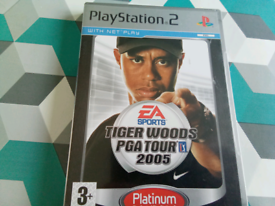 PS2 game tiger woods 2005