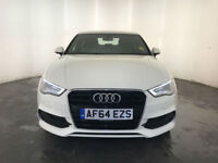 2014 64 AUDI A3 S LINE TDI DIESEL SALOON 1 OWNER FINANCE PX WELCOME