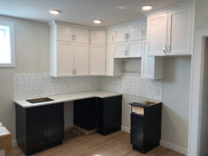 Complete Set of New Kitchen Cabinets and Countertops for Sale