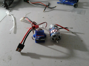 Traxxas brushed stampede