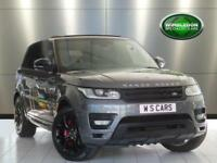 2013 LAND ROVER RANGE ROVER SPORT 5.0V8 AUTOBIOGRAPHY DYNAMIC WITH REAR ENTERTAI