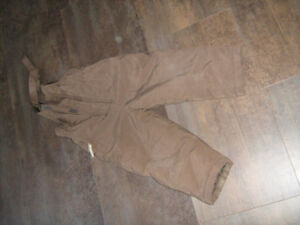 Brown snowpants - Size 2
