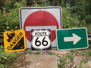Vintage signs from Ontario roads